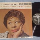 ELLA FITZGERALD SINGS SWEET SONGS FOR SWINGERS--1959 LP