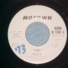 VG++ WL Promo 45--PUZZLE--LADY/YOU MAKE ME HAPPY-Motown
