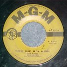 45--HANK WILLIAMS--WEARY BLUES FROM WAITIN'--MGM K11574
