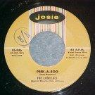 45--THE CADILLACS--PEEK-A-BOO--1958--Josie 846--NM