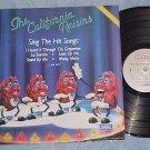 THE CALIFORNIA RAISINS--Rock/R&B/Pop Music--NM 1987 LP