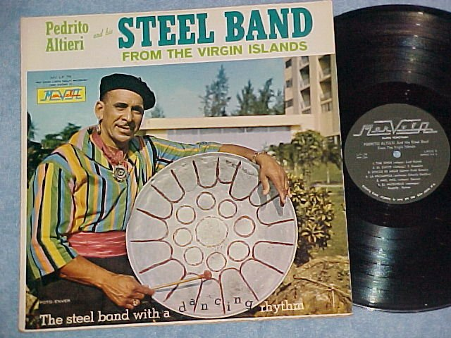 PEDRITO ALTIERI/VIRGIN ISLANDS STEELBAND-Puerto Rico LP