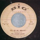 45-JAXSON SISTERS--THANKS MISTER MOONBEAM-1957--Big 606