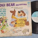 YOGI BEAR TELLS STORIES:LTL RED R HOOD,JACK&BNSTK-'66LP