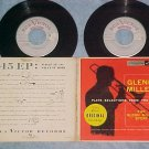 Dbl EP w/PS-GLENN MILLER STORY-...PLAYS SELECTIONS FILM