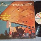 MAYNARD FERGUSON--A MESSAGE FROM NEWPORT--VG+ 1958 LP