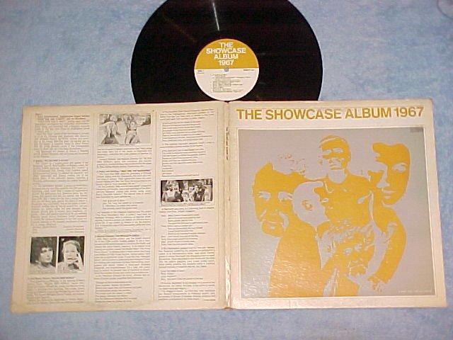 THE SHOWCASE ALBUM 1967--NM/VG+ 1967 LP--RARE TV Sndtrk