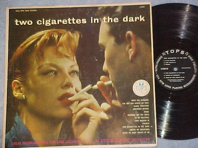 JAY STEVENS-TWO CIGARETTES IN THE DARK-'57 Tops LP~Sexy