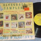 BLUEGRASS SAMPLERS--VG+ 1962 LP--Starday 183--w/Price