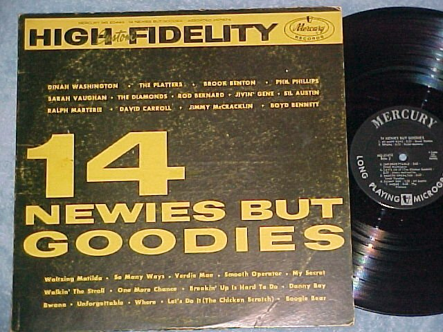 14 NEWIES BUT GOODIES-NM/VG+ 1960 Cmpltn LP-Rock & Jazz