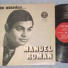 CON USTEDES...MANUEL ROMAN!-Puerto Rico LP--Paladin 002