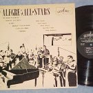 THE ALEGRE ALL STARS-s/t NM/VG+ 1961 LP--Alegre LPA-810