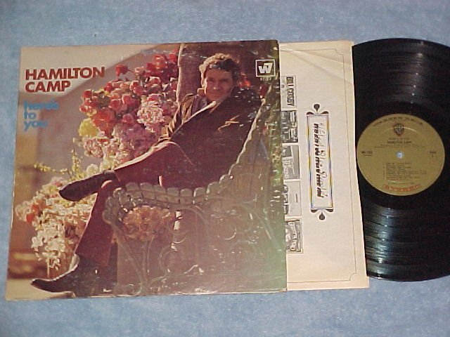 HAMILTON CAMP--HERE'S TO YOU--VG+ Stereo 1967 LP
