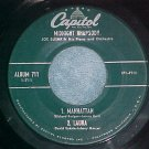 EP-JOE BUSHKIN-MIDNIGHT RHAPSODY-1955--Capitol 711-VG++