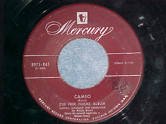 45-RALPH BURNS--CAMEO/LILETH-The Free Forms Album--1952