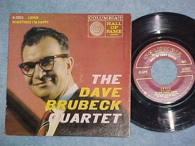 EP w/PS--DAVE BRUBECK QUARTET--LOVER--1959--NM/VG++