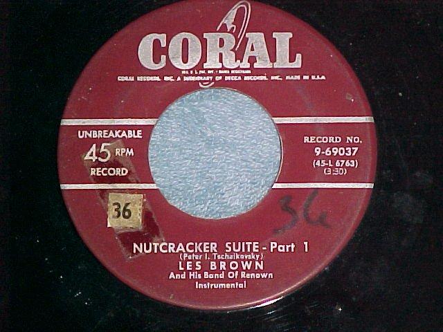 45--LES BROWN--NUTCRACKER SUITE--Coral 69037--VG+