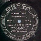Stereo LLP/EP--LES BROWN--CALL ME--Decca 7-34396--VG++