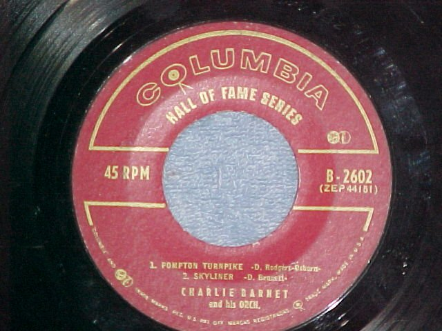 EP--CHARLIE BARNET AND HIS ORCHESTRA--Columbia B-2602