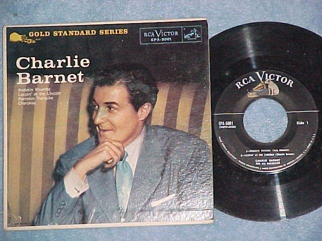 EP w/PS--CHARLIE BARNET--RCA Victor EPA-5001--VG++/VG+