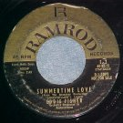 Promo 45-EDDIE FISHER--SUMMERTIME LOVE-1960--Ramrod E-2