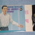 JIMMIE RODGERS-MY FAVORITE HYMNS--VG+ 1963 LP--Dot 3502