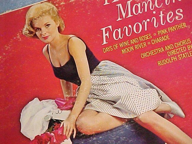HENRY MANCINI FAVORITES--NM/VG+ 1964 LP ~Cheesecake~