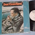 DON CRAWFORD-Self Titled '66 WL Promo LP-Verve Folkways
