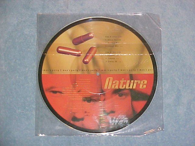 "NATURE--Z-MAN'S PARTY--NM Promo UK Picture Disc 12"" EP"