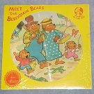 MEET THE BERENSTAIN BEARS--NM 1982 Picture Disc  LP