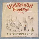 CHRISTMAS GREETINGS--TERRITORIAL CENTER--Salvation Army