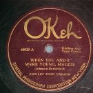 78-FIDDLIN' JOHN CARSON--WHEN YOU AND I WERE YOUNG-Okeh