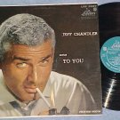 JEFF CHANDLER SINGS TO YOU--VG++ 1957 LP--Liberty 3067