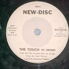 78--BETTY JOHNSON--THE TOUCH--1954--New-Disc 10012--VG+