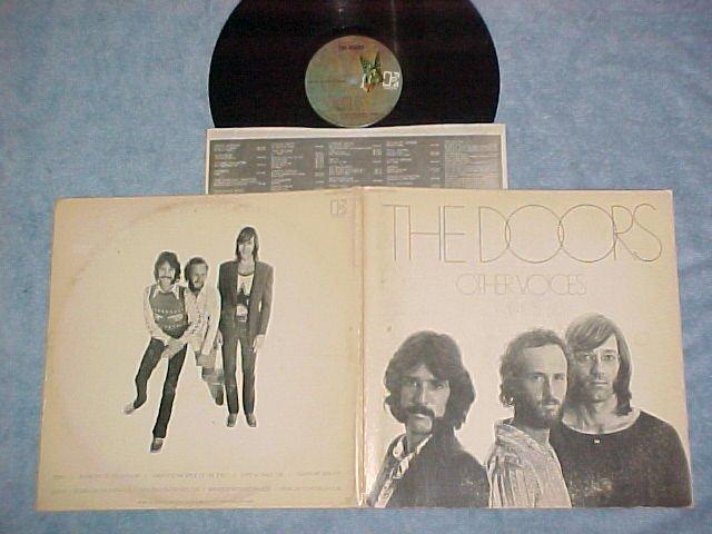 THE DOORS--OTHER VOICES--VG+ 1971 LP--Elektra EKS-75017