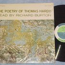 THE POETRY OF THOMAS HARDY READ BY RICHARD BURTON-NM LP