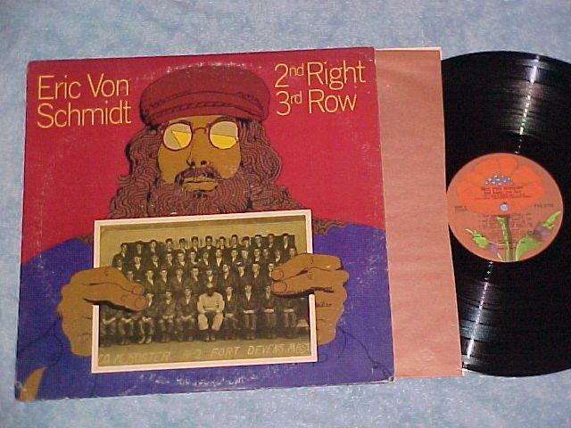 ERIC VON SCHMIDT--2nd RIGHT 3rd ROW--NM/VG+ 1972 LP