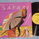 EDMOND DE LUCA--SAFARI--VG+ 1957 LP--Trans-World 212