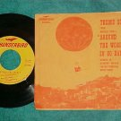 45 w/PS-JACK HASKELL-AROUND THE WORLD--Thunderbird 1956