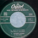 Spain EP--DAVE BARBOUR & ORCH--MAMBO--Capitol EAP-1-545