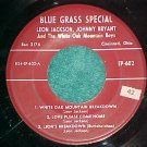 EP-JIMMY MARTIN/LEON JACKSON-Blue Grass Special602-VG++