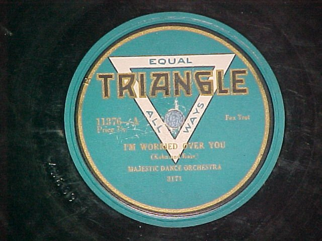 78-MAJESTIC DANCE ORCHESTRA-I'M WORRIED..Triangle 11376