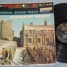 TUNES OF GLORY-Stereo 1961 Soundtrack LP--Alec Guinness