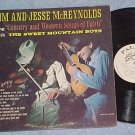 JIM AND JESSE McREYNOLDS-COUNTRY SONGS OF FAITH--VG+ LP