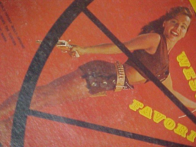 JIM MALLOY-WESTERN FAVORITES-NM/VG c'60 LP ~Cheesecake~