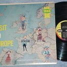 ARTURO CHIATE-A VISIT TO EUROPE-VG++ Mono 1958 Seeco LP