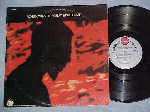RICHIE HAVENS--THE GREAT BLIND DEGREE--VG+ 1971 LP