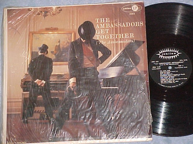 THE AMBASSADORS GET TOGETHER--VG+/NM 1959 LP on Jubilee