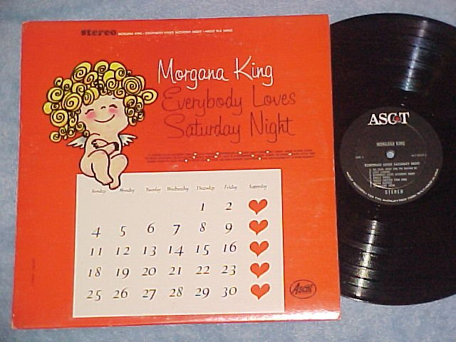 MORGANA KING-EVERYBODY LOVES SATURDAY NIGHT--NM/VG++ LP