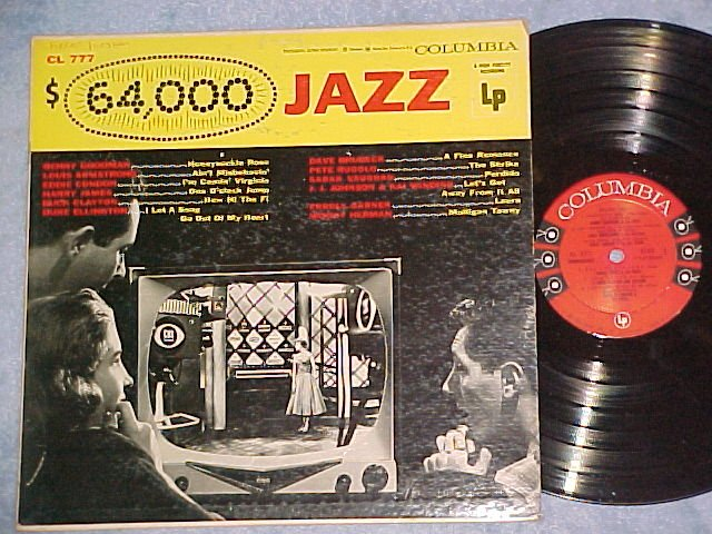 $64,000 JAZZ-NM/VG+ 1956LP-Reference to $64000 Question